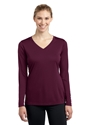 Picture of LADIES' LONG SLEEVE V-NECK COMPETITOR TEE
