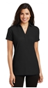 Picture of LADIES' SILK TOUCH Y-NECK POLO